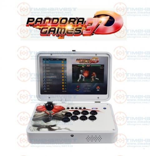 14 inches IPS LCD Mini Arcade Portable folding 2448 in 1 Pan dora Games 3D WIFI 2 players Arcade Multi game Table bartop Machine