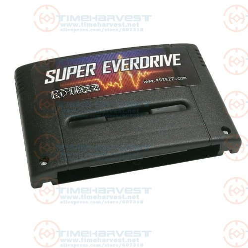 New V2 ver. Super Everdrive SFC Burning card with 16G SD 2000 in 1 SNES Game card suport 56Mbit games for Super Ninten do console