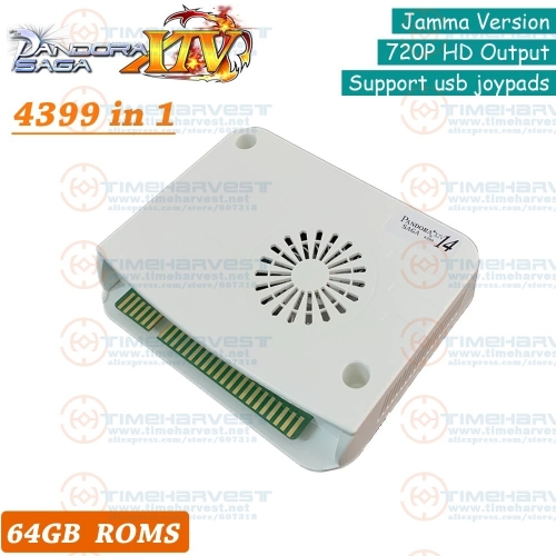 4399 In 1 Pan-dora Saga Box 14 Jamma Mainboard PCB Joystick Machine Arcade Cabinet Coin Operated HD Video Game Console HDMI VGA