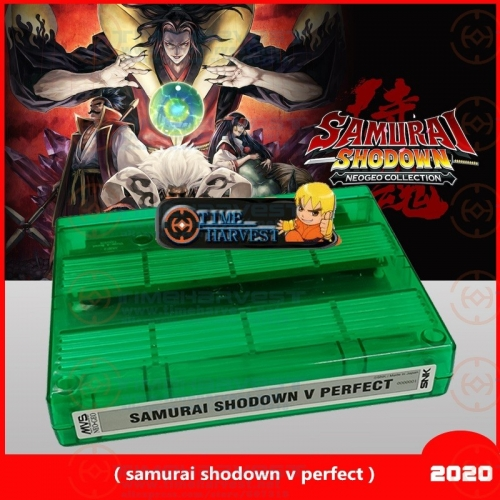 2020 New products Samurai shodown v perfect cartridge for CBOX & SNK JAMMA motherboard work with no modified original NEOGEO MVS
