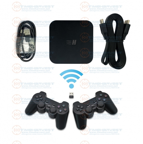 Pand-ora Box DX 3000 in 1 Wired Gamepad Set / Wireless Gamepad Set 2 Players Joypad kit Save game progress High score record 3D Games